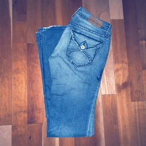 Like-New Virtue distressed Jeans Stretch 26